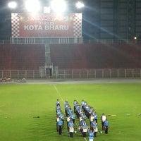 Photo taken at Stadium Sultan Muhammad IV by Mollyana M. on 6/15/2013