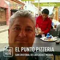Photo taken at El punto pizzeria, San Cristobal de las Casas. by ALFREDO L. on 9/27/2015