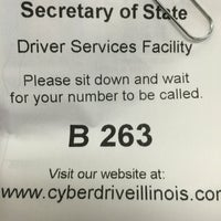 Photo taken at Illinois Secretary of State Driver Services Facility by AntCookie B. on 5/4/2016