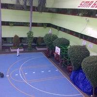 Photo taken at SMA Negeri 68 Jakarta by Lintang E. on 1/5/2014