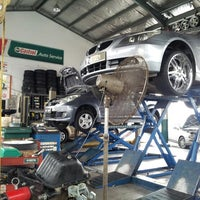 Photo taken at Hicom Tyre and Aligment by ZULFADLI S. on 4/29/2013