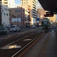 Photo taken at 広島電鉄 寺町電停 (Tera-machi Sta.) (Y2) by Masako Z. on 12/11/2013