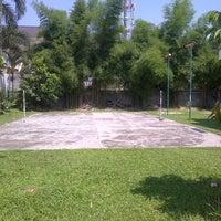 Photo taken at Lapangan Badminton Komp. Graha Tanjung Sari by Pascaldie R. on 6/8/2014