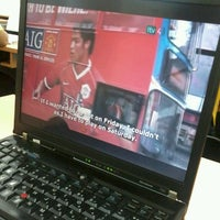 Photo taken at Studio TV3 Kuantan by Muhd F. on 3/25/2013
