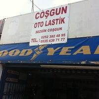 Photo taken at Coşgun Oto Lastik by Sadi P. on 5/10/2013