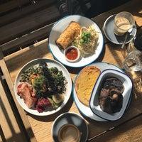 Photo taken at The Farm Cafe by Yoyo B. on 9/8/2017