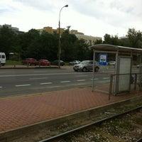 Photo taken at Radiowa Przystanek by Robert G. on 6/11/2013