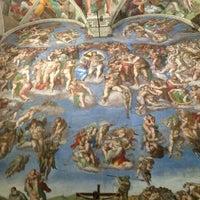 Photo taken at Sistine Chapel by Aya A. on 12/30/2012
