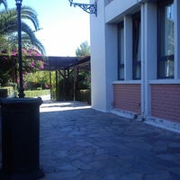 Photo taken at Technological Educational Institute of Athens by Veronica B. on 10/18/2013