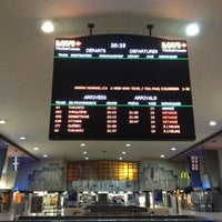 Photo taken at Gare Centrale by Yann F. on 1/28/2013