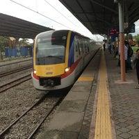 Photo taken at KTM Line - Kajang Station (KB06) by Absolute P. on 1/20/2013