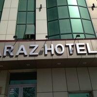 Photo taken at Araz Hotel by Evgeny on 4/8/2013