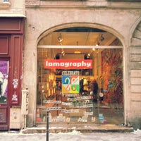 Photo taken at Lomography Gallery Store by Dong June L. on 1/20/2013