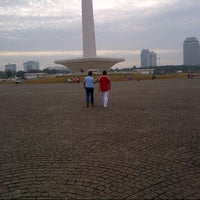 Photo taken at Monas Sektor Barat by Vickry M. on 1/3/2014