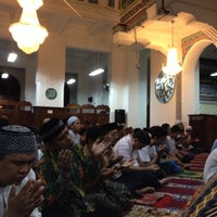 Photo taken at Masjid Cut Meutia by Anggoro I. on 8/6/2013