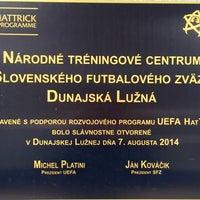 Photo taken at OFK Dunajská Lužná by Michal O. on 3/28/2015