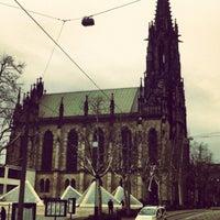 Photo taken at Basel by Davi C. on 3/24/2013