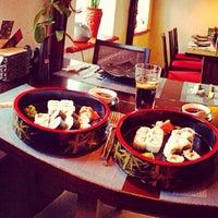 Photo taken at GINGER | ķīniešu virtuve, suši bārs by Eliza M. on 2/18/2014
