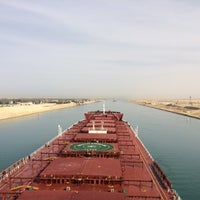 Photo taken at Suez Canal by Yiğit G. on 3/19/2016