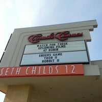 Photo taken at Carmike Seth Childs 12 by William H. on 10/20/2013