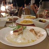 Photo taken at Aria Cucina Italiana by Galilea A. on 3/29/2013
