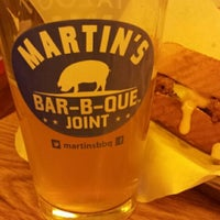 Photo taken at Martin's Bar-B-Que by Jeff M. on 3/26/2014