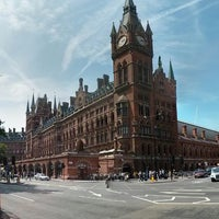 Photo taken at London St Pancras International Railway Station (STP) by Nick H. on 7/14/2013