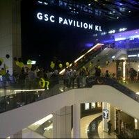 Photo taken at Golden Screen Cinemas (GSC) by Kairo I. on 11/27/2012