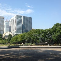 Photo taken at Hibiya Park by Yoshinori S. on 7/22/2013