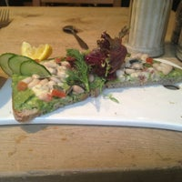 Photo taken at Le Pain Quotidien by Anna G. on 4/4/2013