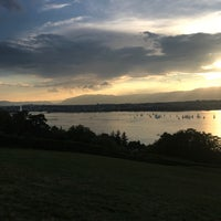 Photo taken at Cologny view by FHD on 8/21/2018