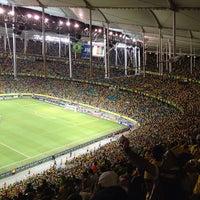 Photo taken at Itaipava Arena Fonte Nova by Alessandro D. on 6/22/2013