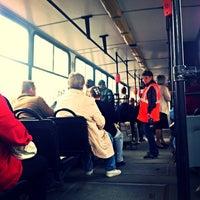Photo taken at Трамвай №100 by Iren B. on 9/10/2013