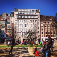 Photo taken at Golden Square by Mauricio F. on 3/5/2013