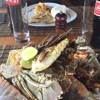 Photo taken at The Rock Restaurant Zanzibar by Lama on 9/20/2015