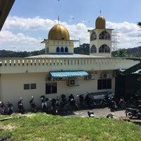 Photo taken at Masjid Al-Mustaqim by Bro B. on 1/8/2016