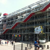 Photo taken at Pompidou Centre – National Museum of Modern Art by Karen F. on 7/14/2013