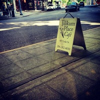 Photo taken at Tilikum Place Café by skinny_cyclist on 7/13/2013