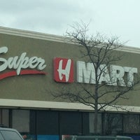 Photo taken at Super H Mart by Tony C. on 3/24/2013