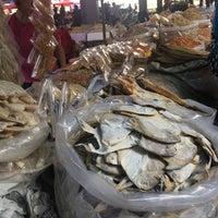 Photo taken at Sunday Market (Pasar Minggu Satok) by street. v. on 5/13/2017