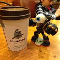 Photo taken at Caribou Coffee by Randy L. on 4/16/2013