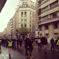 Photo taken at Rue de la Tour by Alex S. H. on 5/20/2013