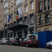 Photo taken at Crowne Plaza Brussels Le Palace by Nicolas B. on 5/10/2013