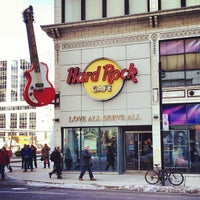 Photo taken at Hard Rock Cafe Toronto by Nick D. on 3/2/2013