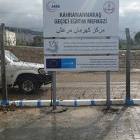 Photo taken at Dogukent Multeci Okulu by Ahmet S. on 4/22/2015