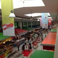 Photo taken at Marheineke Markthalle by Davide C. on 8/3/2013
