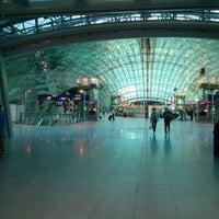 Photo taken at Frankfurt Airport (FRA) by Olga K. on 6/22/2013
