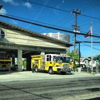 Photo taken at McCully-Mō'ili'ili Fire Station 29 by Nicholas A. on 8/16/2013