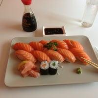 Photo taken at Sakana Sushi Bar by Karl S. on 5/28/2013