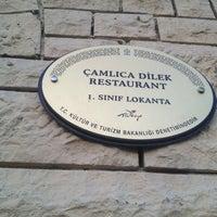 7/14/2013 tarihinde Cüneyt A.ziyaretçi tarafından Dilek Restaurant'de çekilen fotoğraf